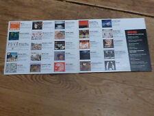 ROCK & FOLK - MONSTER CD 42 !!!RARE CD !!!!!FRANCE!!!!!!