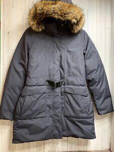 The-North-Face-Dryvent-Women-039-s-Size-L-Arctic-Parka-II-Down-Coat-Jacket-Black