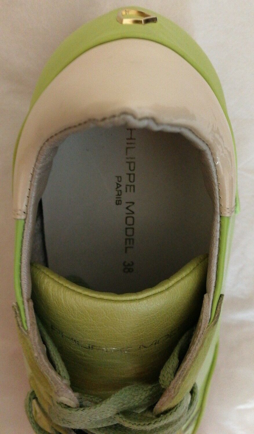 Philippe Philippe Philippe Model Paradis Lace-up Sneakers Trainers Lime green Size uk 5 eu 38 c182bf