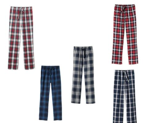 NWT OLD NAVY  MENS COTTON FLANNEL LOUNGE SLEEP PANT PLAID PANTS