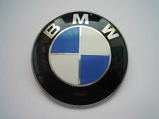 1 original bmw emblema plaquita 82 mm tapiz u. tapa tapa frontal 8132375