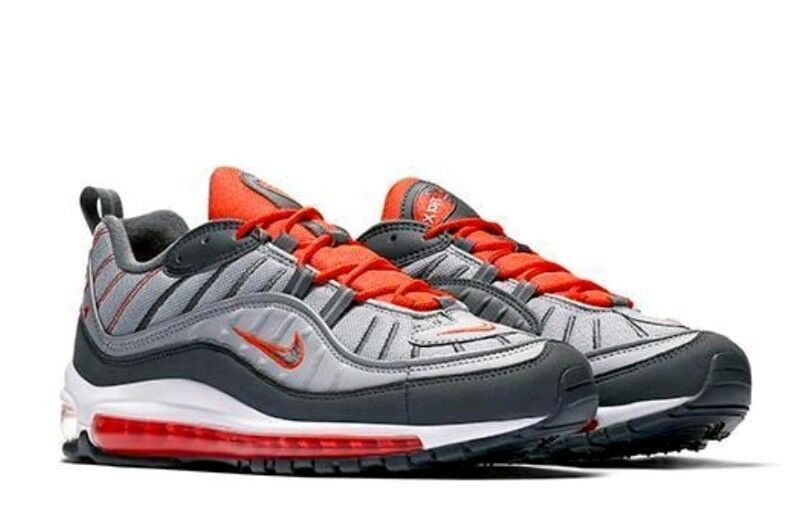 Nike Air Max 98 Taille boîte 8.5 UK Genuine EntièreHommes t neuf dans sa boîte Taille Authentique Baskets Homme 97 1 95 b277ad