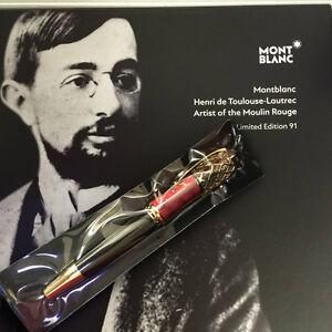 Montblanc Limited Edition Henri de Toulouse-Lautrec Moulin Rouge Fountain Pen
