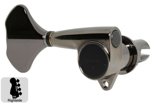 GOTOH GB707 Compact Bass Tuning Machines Tuners Cosmo Black 4R