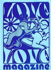 LOVE LOVE MAGAZINE #3  OCT 2020 CHARLES PLYMELL GERARD MALANGA TULI KUPFERBERG *