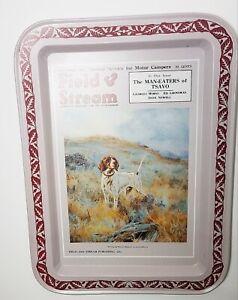Vintage-Tin-Tray-Plate-Field-and-Stream-Magazine-November-Cover-1926-Heirloom