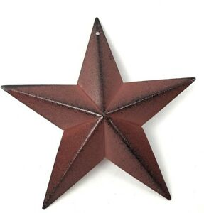 Primitive-Barn-Star-5-5-inch-Burgundy-Red-Country-Decor