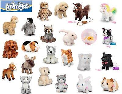 NEW Tobar Animigos Flipping Labrador Puppy Electronic Soft Dog Toy Everybody Lo
