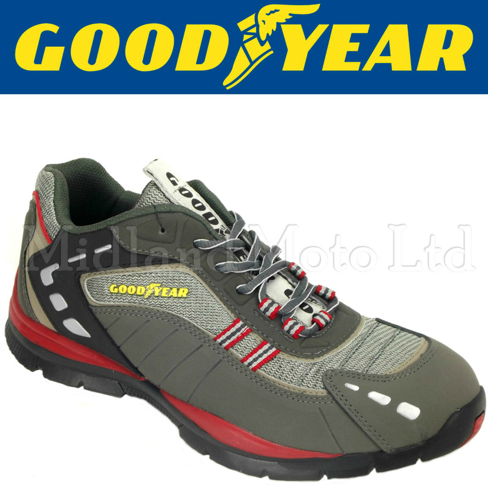 GOODYEAR Steel Toe Cap Trainer Style Safety schuhe. Trainers Schuhes Boot GY3011