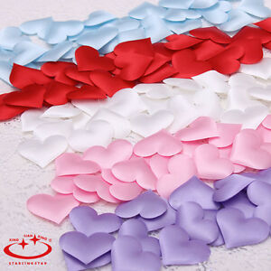 100Pcs-Padded-Fabric-Throwing-Petals-Love-Heart-Table-Wedding-Party-Decoration