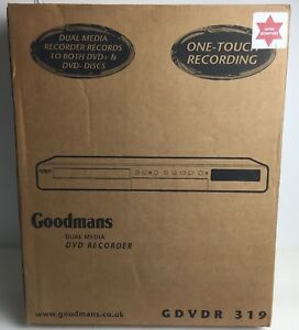 GOODMANS-GDVDR-319-DUAL-MEDIA-DVD-RECORDER-PLAYER-with-REMOTE-CONTROL-GDVDR319