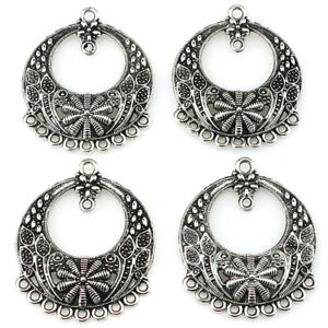 22419-10pcs-lot-Vintage-Earring-Findings-Alloy-Charm-Diy-Jewelry-Pendant