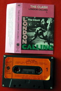 CLASH-LONDON-CALLING-VOL-1-1981-PUNK-RARE-EXYUGO-CASSETTE-TAPE