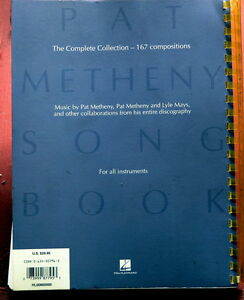 PAT-METHENY-Songbook-Complete-Collection-ORIGINAL-2000-US-Book-SEALED