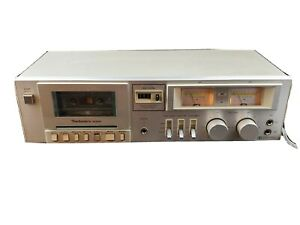 Technics-M205-Vintage-Silver-Hi-Fi-Stereo-Cassette-Player-Tested-AWESOME