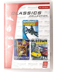 Pandora S Box Motocross Madness 2 Midtown Madness Pc Game 3 Pack Cd Rom Ebay