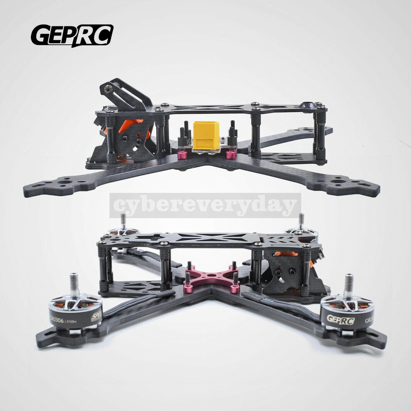 200mm FPV Racing Drone Frame 4'' 4'' 4'' Frame Unfinished