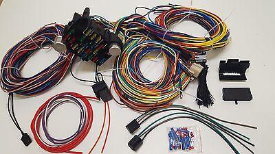 Gearhead 1967 68 69 70 1972 Ford Truck Pickup Universal Wiring Kit Wire  Harness | eBayeBay
