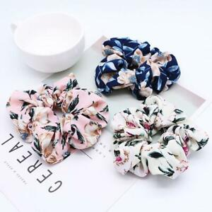 Sweet-Flower-Hair-Scrunchie-Girls-Ponytail-Holder-Soft-Elastic-Hair-Ties-Rope