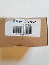 Power Drive 1vl40 58 Adjustable V Belt Pulley Sheave