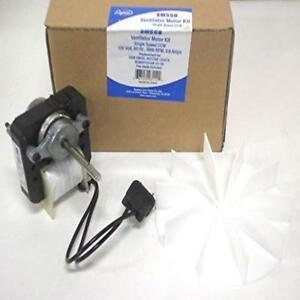 Universal bathroom fan replacement electric motor kit with for Facts about electric motors