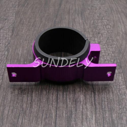 Alloy 60mm Fuel Pump Filter Mounting Bracket Clamp Cradle Holder Purple UK