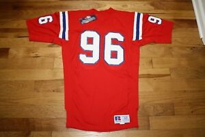 df489fdcd52 Brent Williams 1986-89 New England Patriots non game used jersey ...
