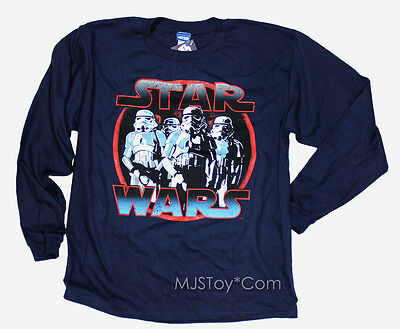 NWT Star Wars Lucasfilm Official Starwars Stormtroopers T-Shirt Boys License Tee