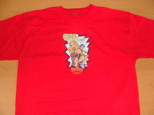 """Sheena Queen Of The Jungle /""""Cease Your Struggles/"""" Red Tee Shirt Size 14//16 LG"""