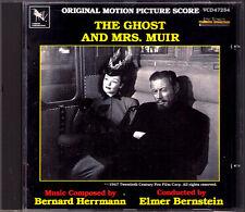 THE GHOST AND MRS. MUIR Bernard Hermann Elmer Berstein Varese Sarabande Varèse