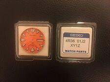 4R3601J2XY1Z Genuine Orange Dial Japan Seiko Monster 200m Divers Automatic 4R36