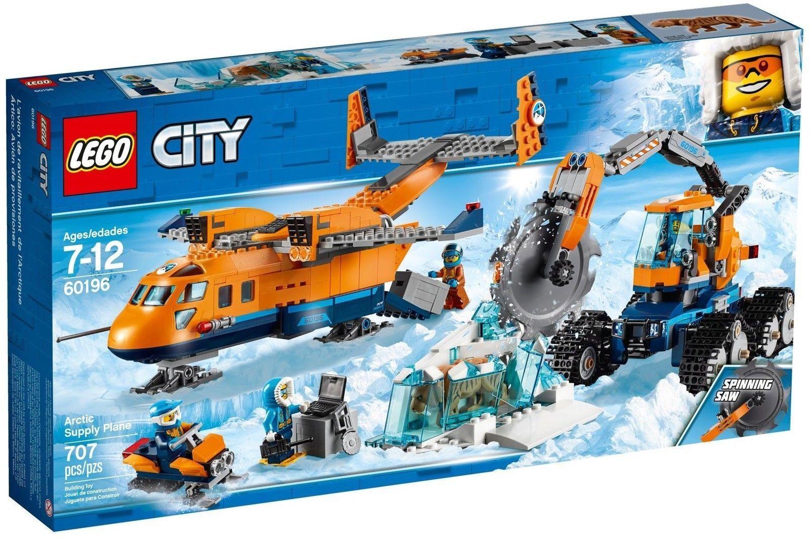 LEGO® LEGO® LEGO® City 60196 Arktis-Versorgungsflugzeug NEU & OVP 44bc37