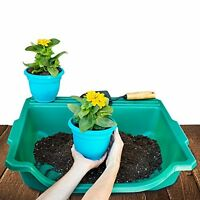 Portable Potting Tray Garden Plant Seedlings Repotting Tool Outdoor Planting
