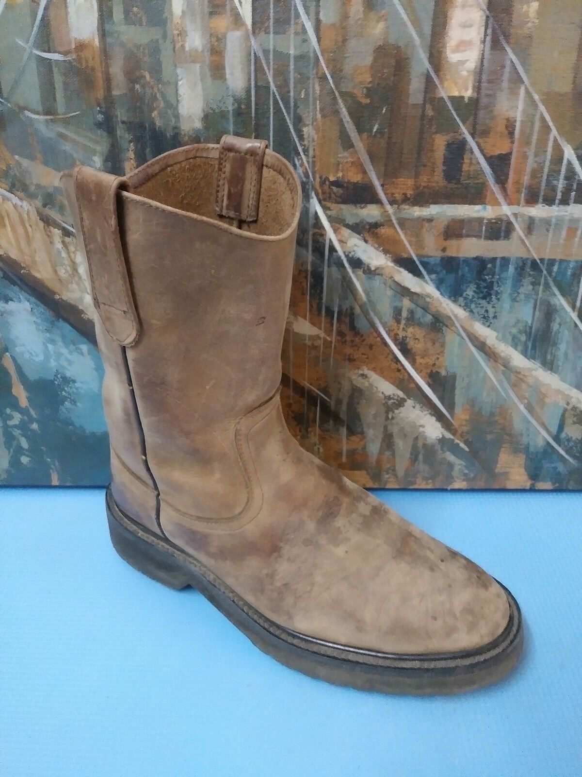 Man's/Woman's Galexico boots 5001 size 7 BROWN flagship store stable quality renewed on time