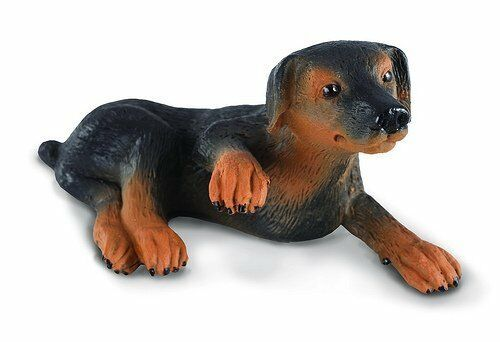 DOBERMAN and PUP by CollectA; toy//dog//88086//88087//RETIRED