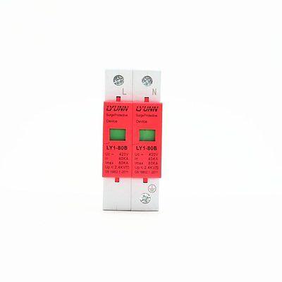 3P 40KA~80KA Din Rail Surge Protection Device SPD Lightning Arrester Protection