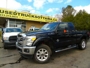 2013  Ford F350  Lariat /6.7 Power St/Diesel /4x4/Leather/Loaded