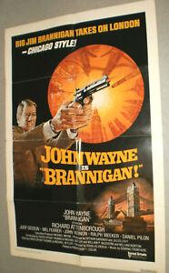 Filmplakat,PLAKAT ,BRANNIGAN,JOHN WAYNE,RICHARD ATTENBOROUGH,JUDY GEESON -23