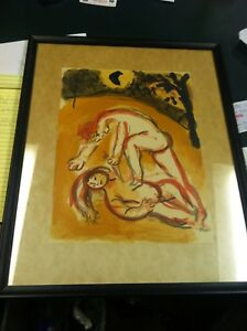 Marc-Chagall-Hand-Signed-Artist-Pencil-LITHOGRAPH