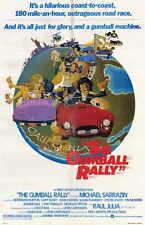 THE GUMBALL RALLY Movie POSTER 11x17 Michael Sarrazin Gary Busey Raul Julia