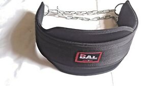 Sting Neoprene Dipping BeltWeight LiftingGYM Belt With Metal ChainNew