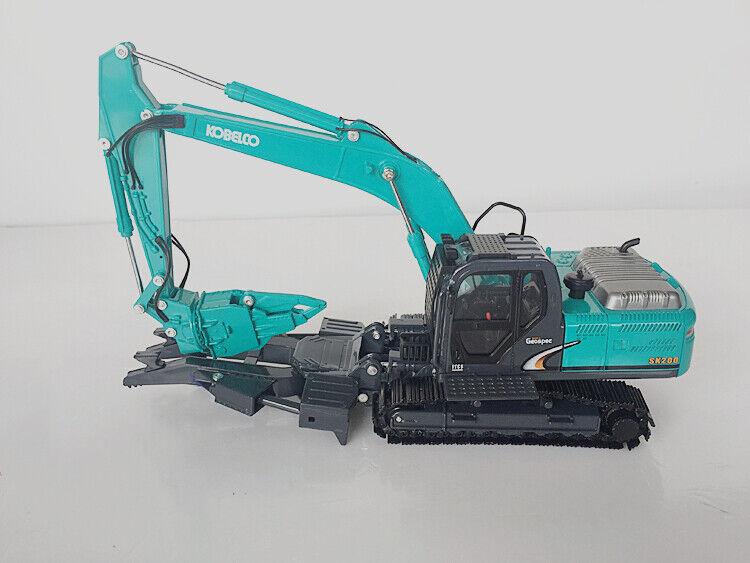 1 43 excavadora Kobelco SK200 dynaspec Multi Modelo Diecast máquina de construcción de demolición