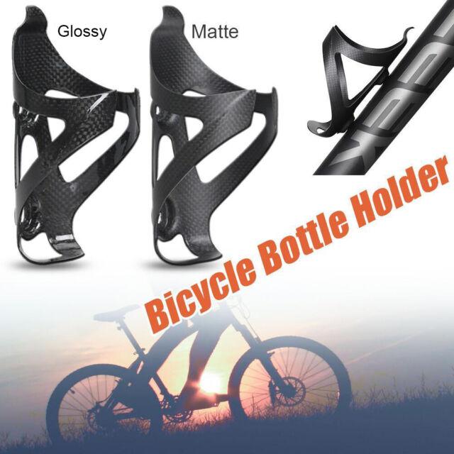 Full Carbon Fiber Bottle Cages Bike Bicycle Water Bottle Holder 3K Glossy//Matt