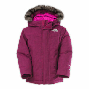 680d7b2e5 Details about The North Face Big Girls' Greenland Down Parka Luminous Pink  Size L 14/16