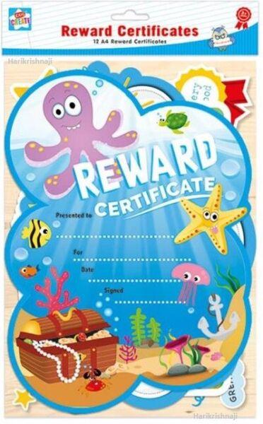 12 X A4 Per Bambini Ricompensa I Certificati Ideale Per Premiare Buona Condotta Fabbricazione Abile
