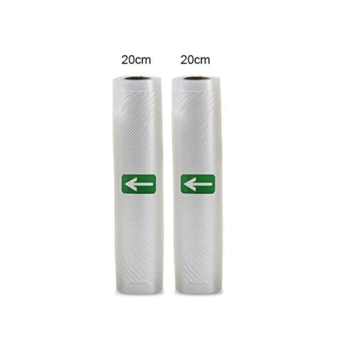 2 Rolls 50/' Vacuum Seal Bags for FoodSaver Sealer /& Sous VideFoodVacBags