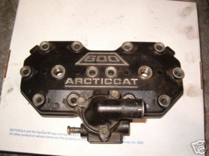ARCTIC CAT 600  1999 CYLINDER HEAD VERY CLEAN