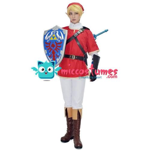 The Legend of Zelda Link Red Cosplay Costume