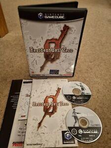 Resident Evil Zero 0-Raro Nintendo GameCube Juego-Completo-Perfecto Estado!!!