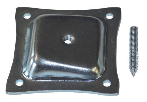 Einzeln Bein Befestigung Montageplatte Angewinkelte Niveau Holz Metall